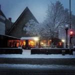 Snowy Evening, Avenue du Parc - Ian Rogers