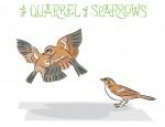 New Artwork – Ian Rogers – a Quarrel of Sparrows