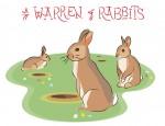 New Artwork – Ian Rogers – a Warren of Rabbits