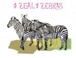 New Artwork – Ian Rogers – a Zeal of Zebras