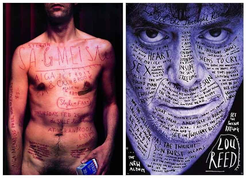 Stefan Sagmeister posters