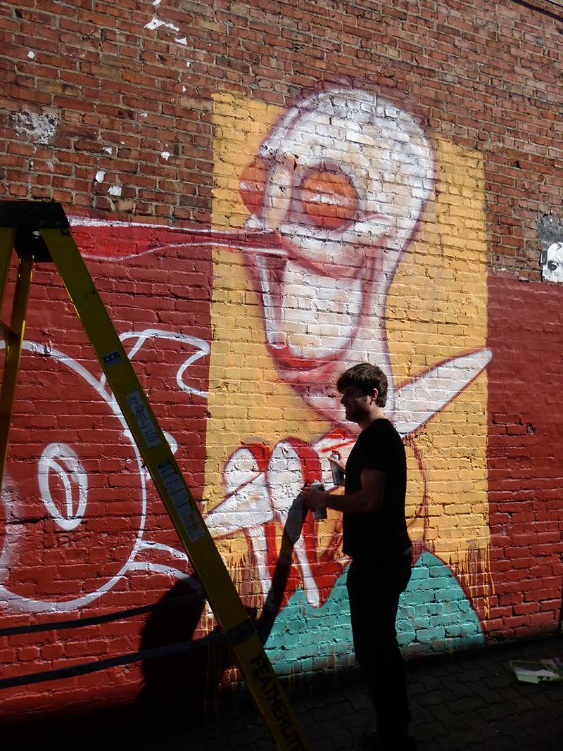 Alex Produkt - Montreal Mural Festival