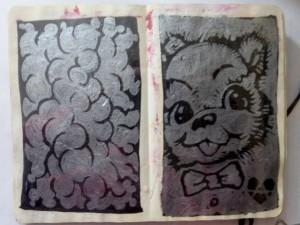 ian rogers sketchbook 5-day challenge 09