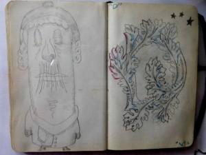 ian rogers sketchbook 5-day challenge 11