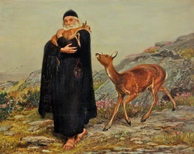 Saint Patrick - Briton Riviere 1877